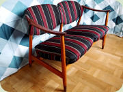 50's two seat sofa