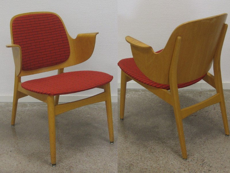 Chair 1950s Hans Olsen Century Chair Mid Century Shell Chair Chair .