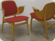 50's shell chair,                           Danish design by Hans Olsen