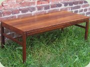 Swedish 60's rosewood                           occasional table, Casino by Engström &                           Myrstrand, Tingströms, Bra Bohag