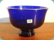 Cobalt                           blue bowl by Bergdala