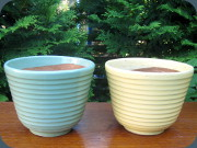 Swedish 50's flower pots Gabriel Ideal