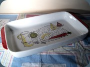 Swedish 50's or 60's                           ovenware Rörstrand Verdura no 20