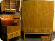 Swedish 50's cabinet                           with 2 drawers, Bodafors