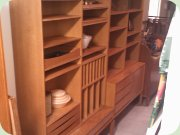60s                           oak bookcases by IKEA