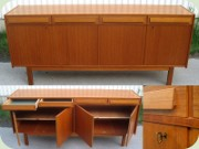 Swedish 60's teak                           sideboard with 4 drawers