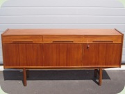 Teak sideboard,                           probably by Nils Jonsson
