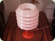 Swedish 70's table                           lamp by Fagerhults Belysning.