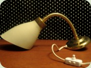 Swedish 50's or 60's                           bed lamp