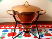 Copper pot for mulled wine, 60's design by Gunnar Ander Ystad Metall